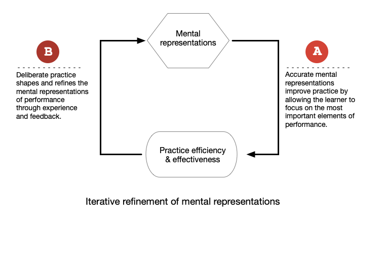 Mental models and deliberate practice